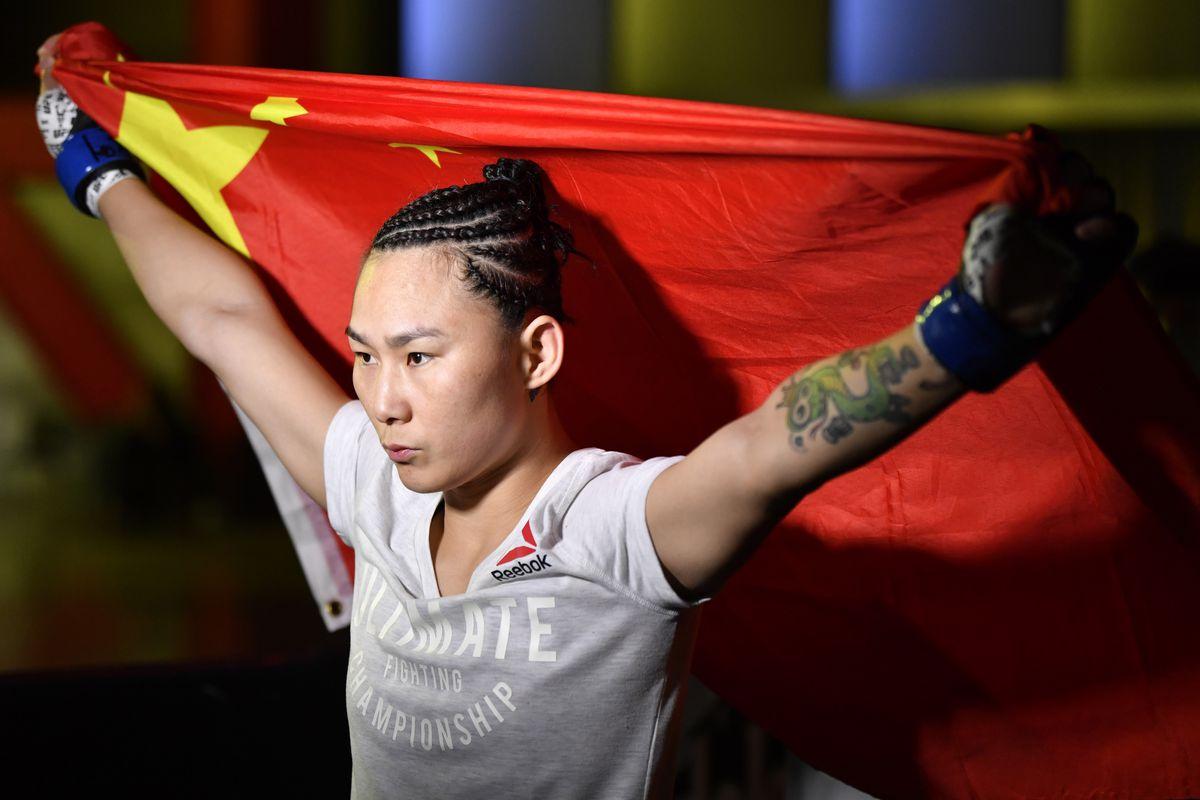 UFC Fight Night: Gadelha v Xiaonan