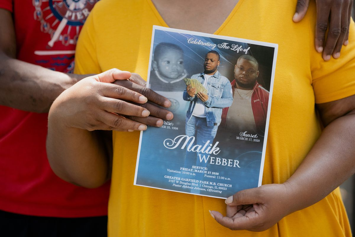 Malik Webber was 21. His suicide in March was one of 57 by Black Cook County residents so far this year.