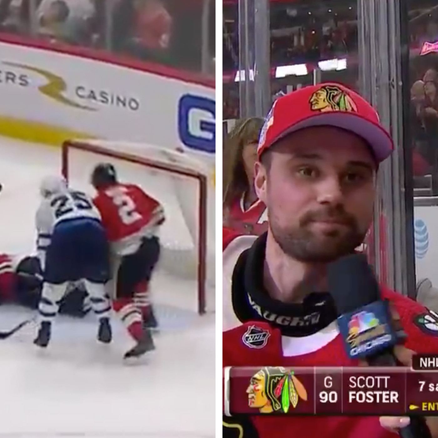 The Blackhawks Needed Emergency Goalie And Accountant Saved The Day