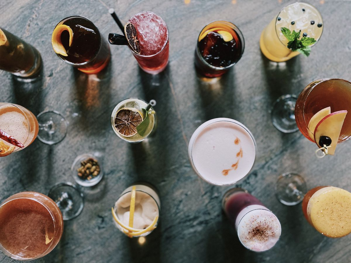 Jack Rose just unveiled more than 20 new fall cocktails last week.