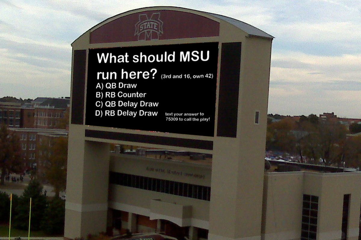 MSU tests the never-before-seen fan playcalling system in advance of Saturday's Troy game