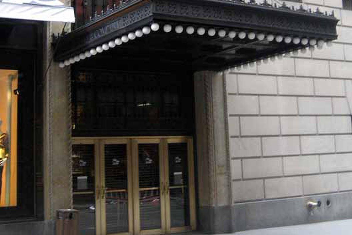 """Photo of Saks via <a href=""""http://flickr.com/photos/wallyg/456181801/in/set-72157594193116951/"""">Wallyg</a>611 5th Ave/Flickr"""