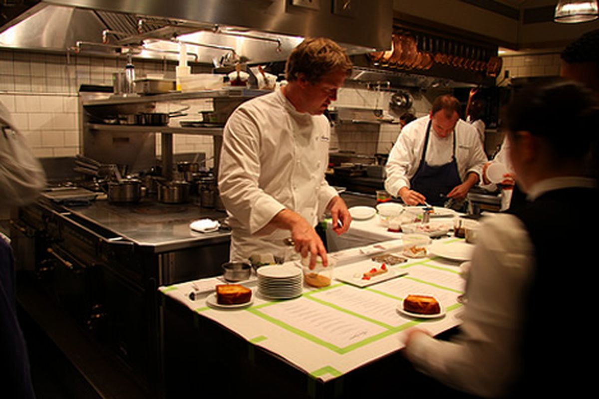 Timothy Hollingsworth of the French Laundry