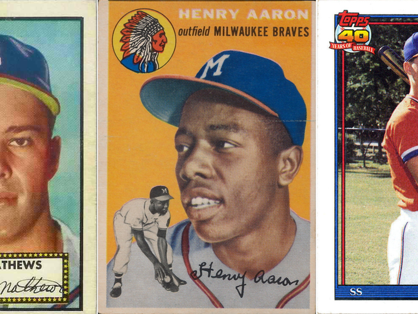 Five To Collect Great Braves Rookie Cards Talking Chop