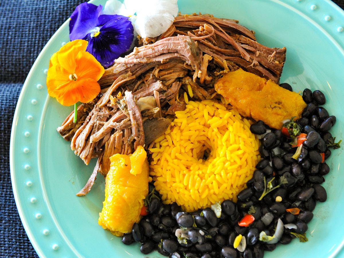 A meaty dish at Zita Rica