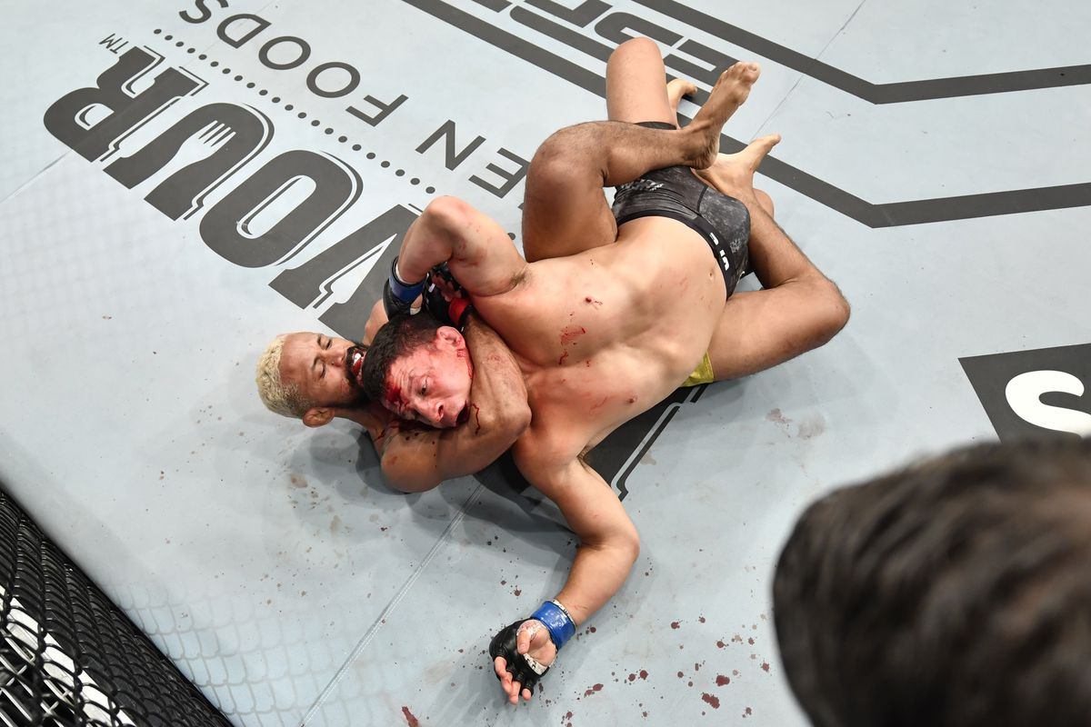 UFC Fight Island 2 results: Deiveson Figueiredo puts on savage performance,  chokes out Joseph Benavidez to become UFC flyweight champion - MMA Fighting