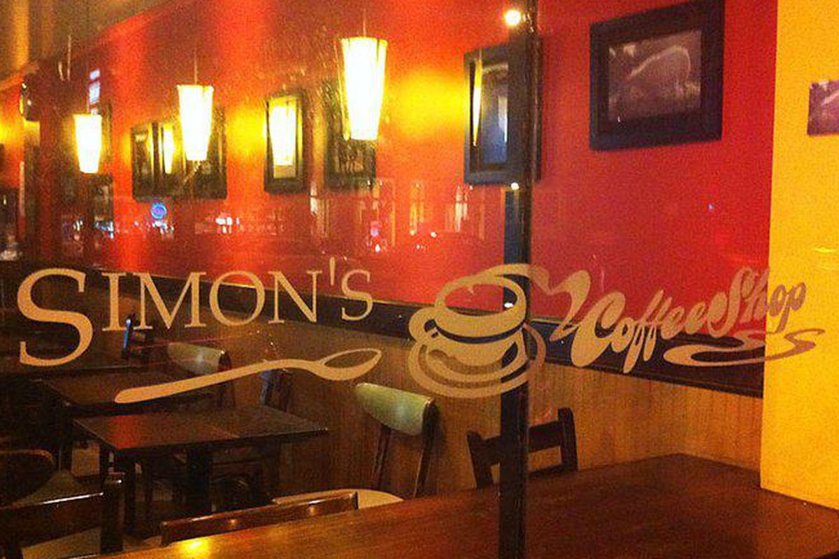 Simon's Coffee Shop in Cambridge