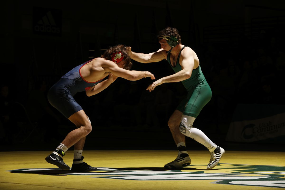 UVU wrestling: No  23 UVU tops Western Wyoming, drops Big 12