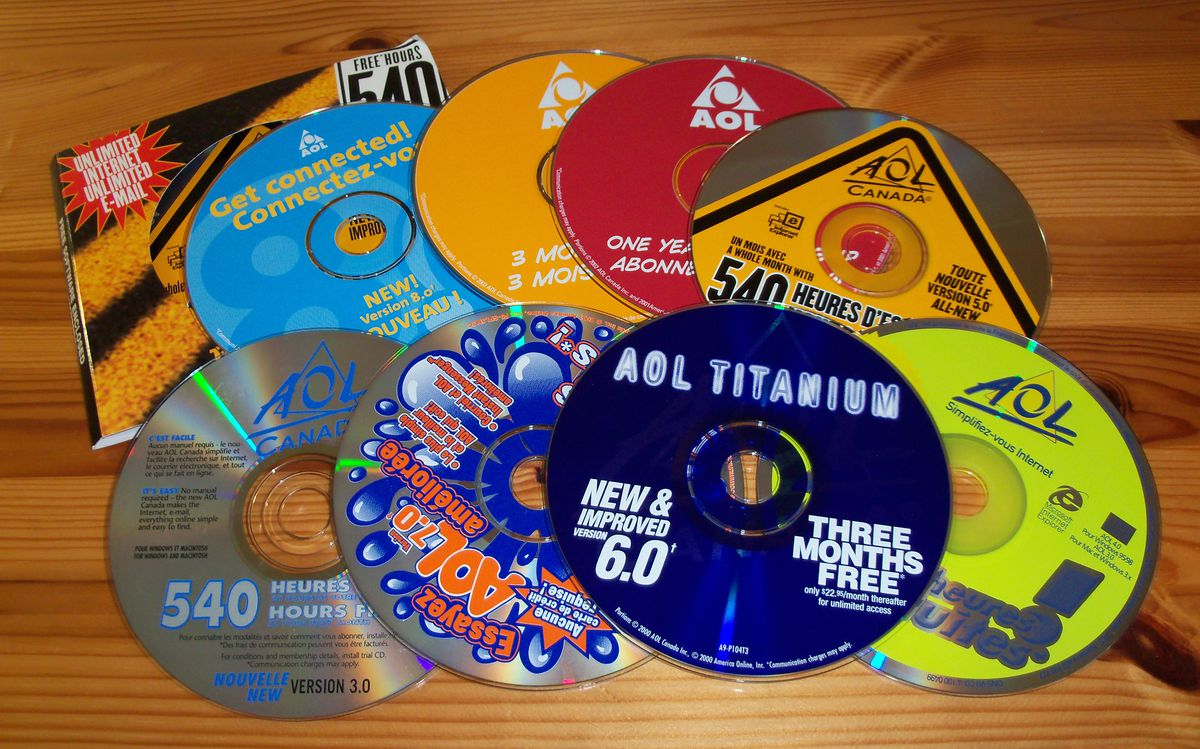 In memoriam: AOL CDs, history's greatest junk mail - Vox