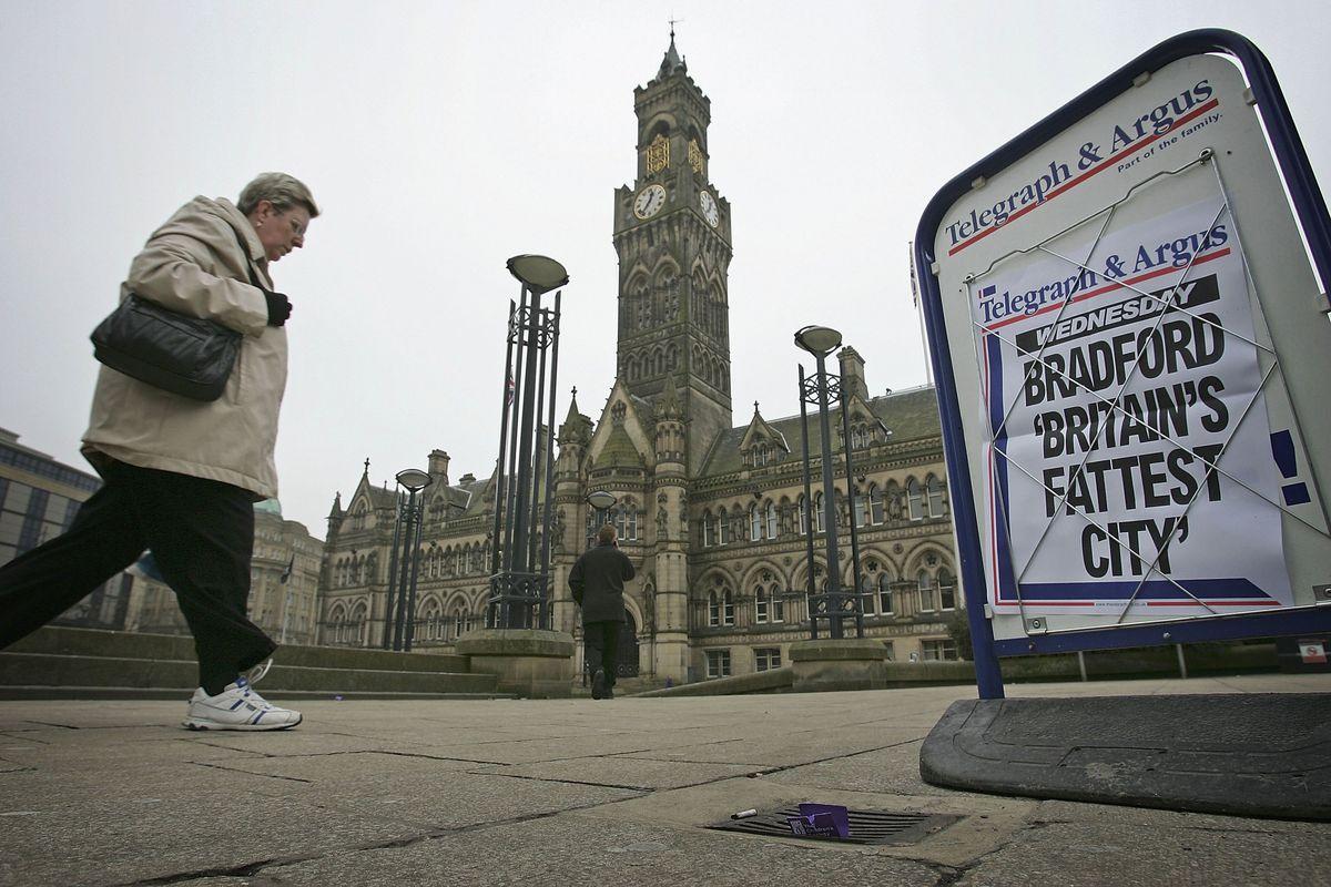 Bradford Named Fattest City In The UK