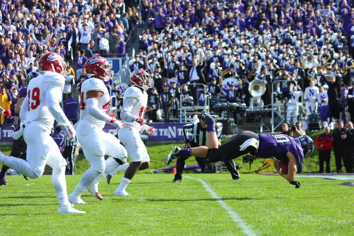 NCAA FOOTBALL: OCT 22 Indiana at Northwestern
