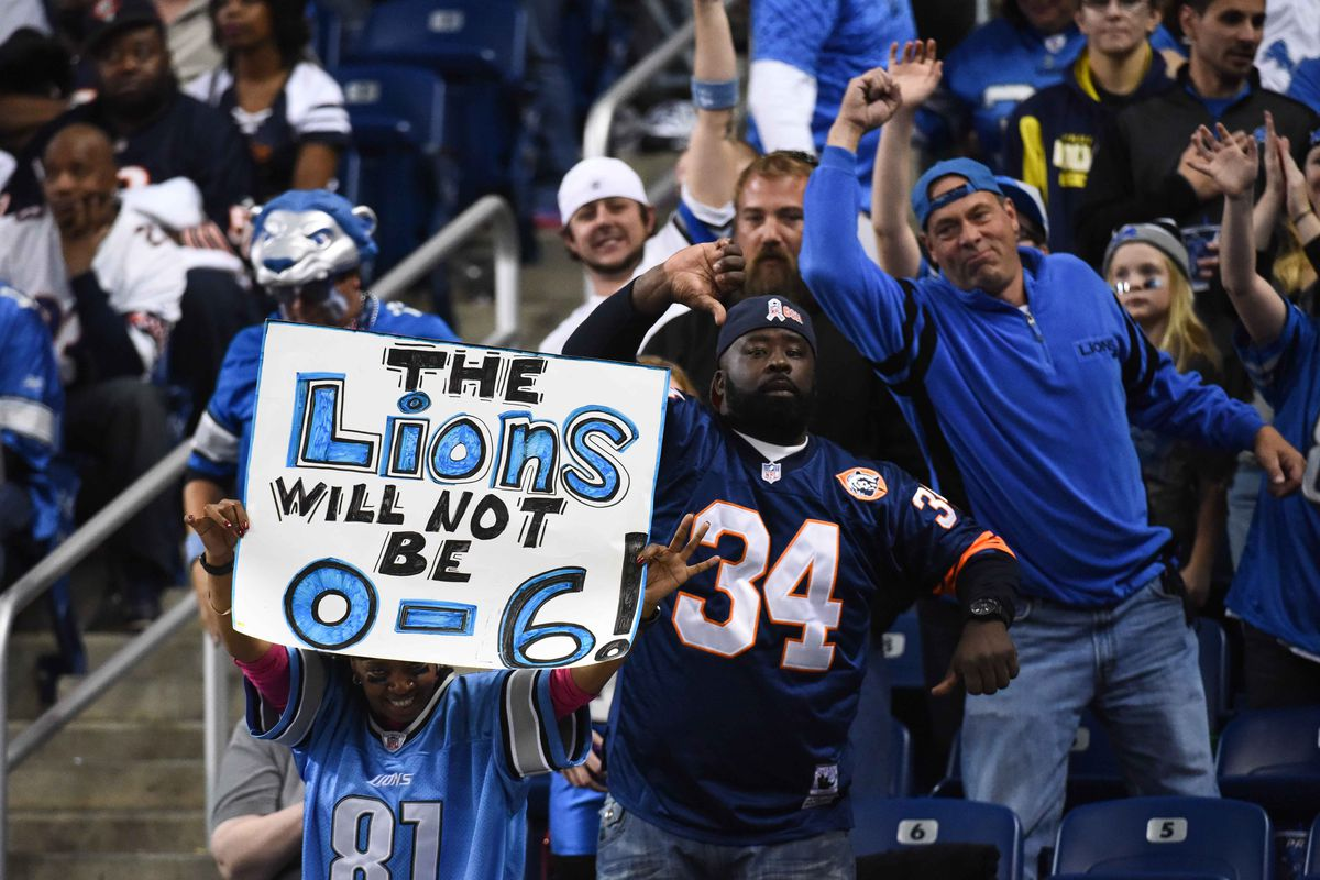 When your fans are making signs like this, you're probably a bad team.