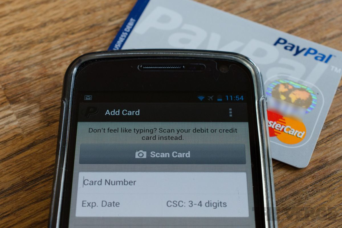 PayPal releases revamped Android app with new design, credit card