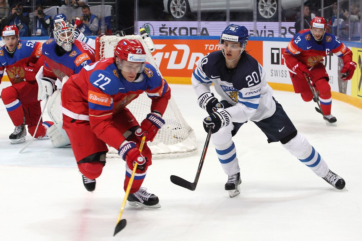 More IIHF World Championship news: Nyander settles in at left wing and Zaitsev scores