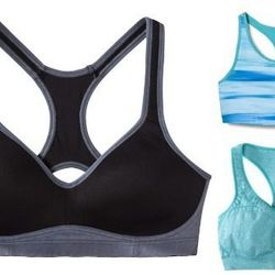 """<b>Kristen Philipkoski, <a href=""""http://sf.racked.com"""">Racked San Francisco</a> editor:</b> """"I swear by the C9 by Champion sports bras at Target. The <a href=""""http://www.target.com/p/c9-by-champion-women-s-seamless-racerback-bra-assorted-colors/-/A-147236"""