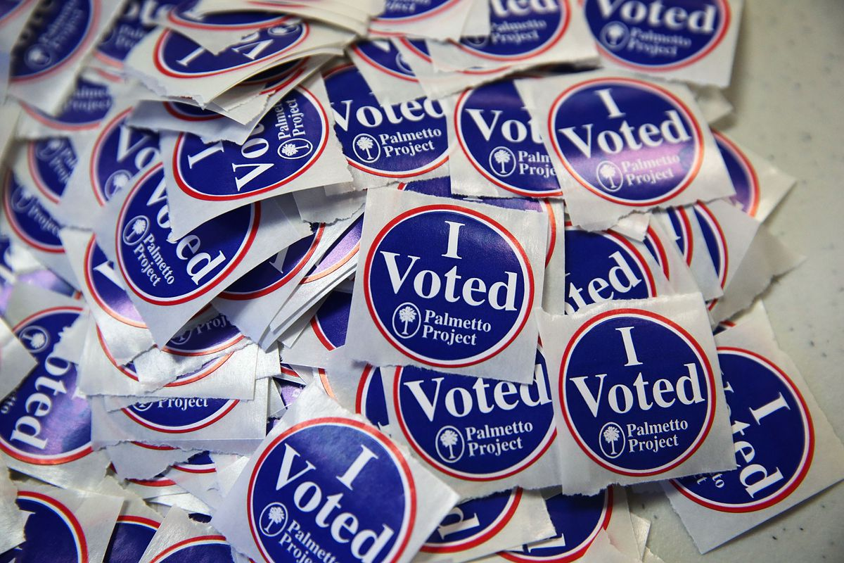 South Carolina Voters Take Part In The State's Republican Primary