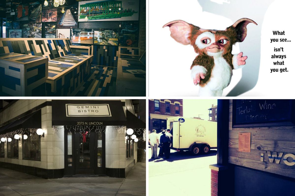 """Parts & Labor, Sour Beer & """"Gremlins"""" at Jerry's, Gemini Bistro, Two"""