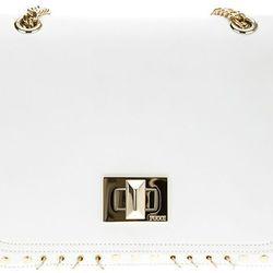 "<b>Pucci</b> Marquis bag in white, <a href=""http://www.farfetch.com/shopping/women/emilio-pucci-marquise-shoulder-bag-item-10322306.aspx?gclid=cpck_tnkgbccfyqk4aodazcaaa"">$1,255</a>"