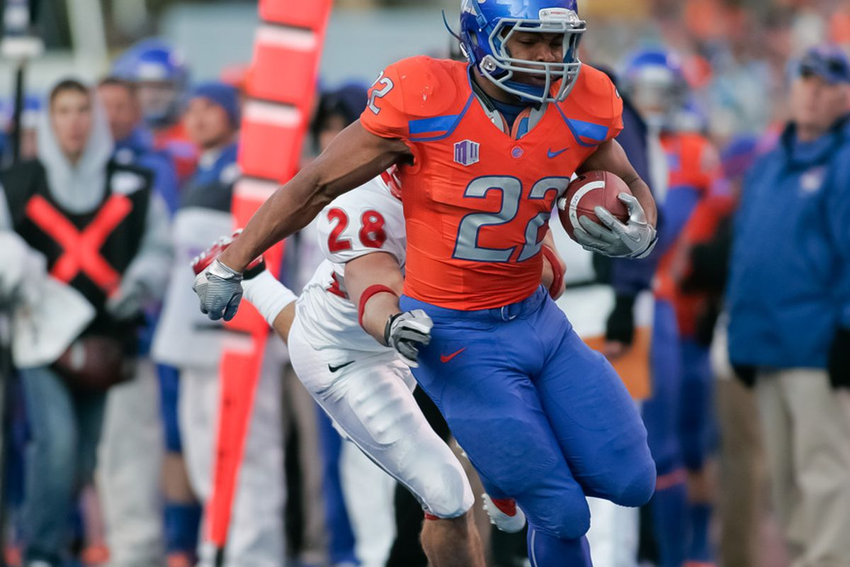sports shoes dbc32 71736 Boise State RB Doug Martin's NFL Draft profile and scouting ...