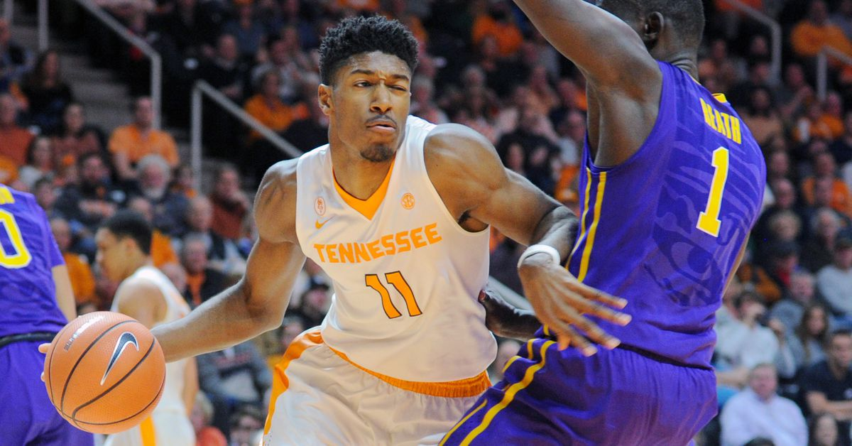 e81de2ab640 SEC Basketball: Tennessee Volunteers vs. LSU Tigers Full Preview - Rocky  Top Talk