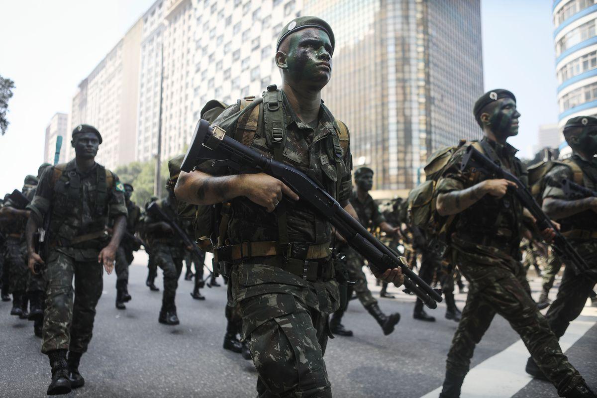 Image result for brazil military