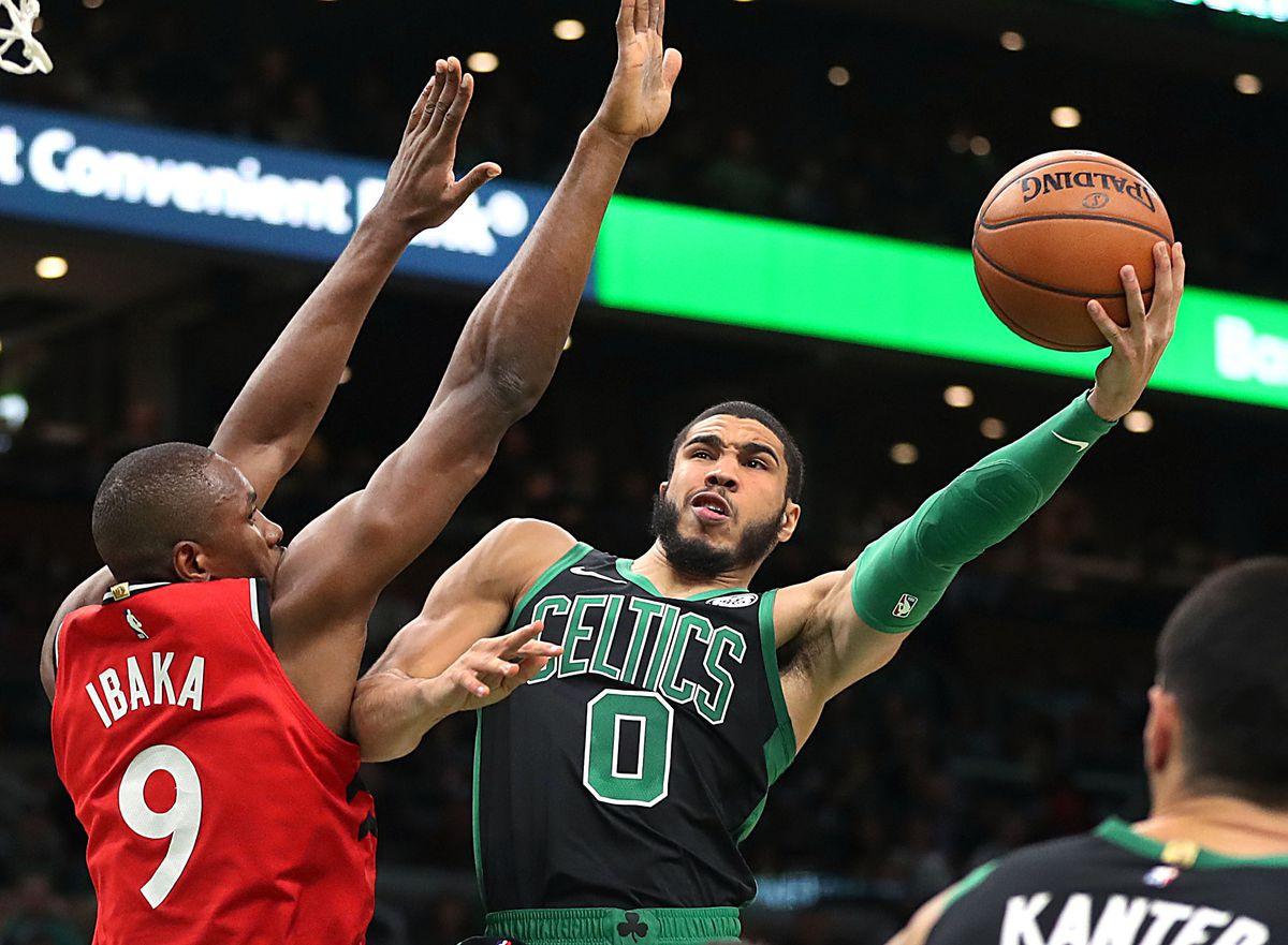Toronto Raptors Vs. Boston Celtics at TD Garden