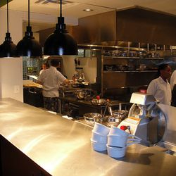 A look inside the massive kitchen
