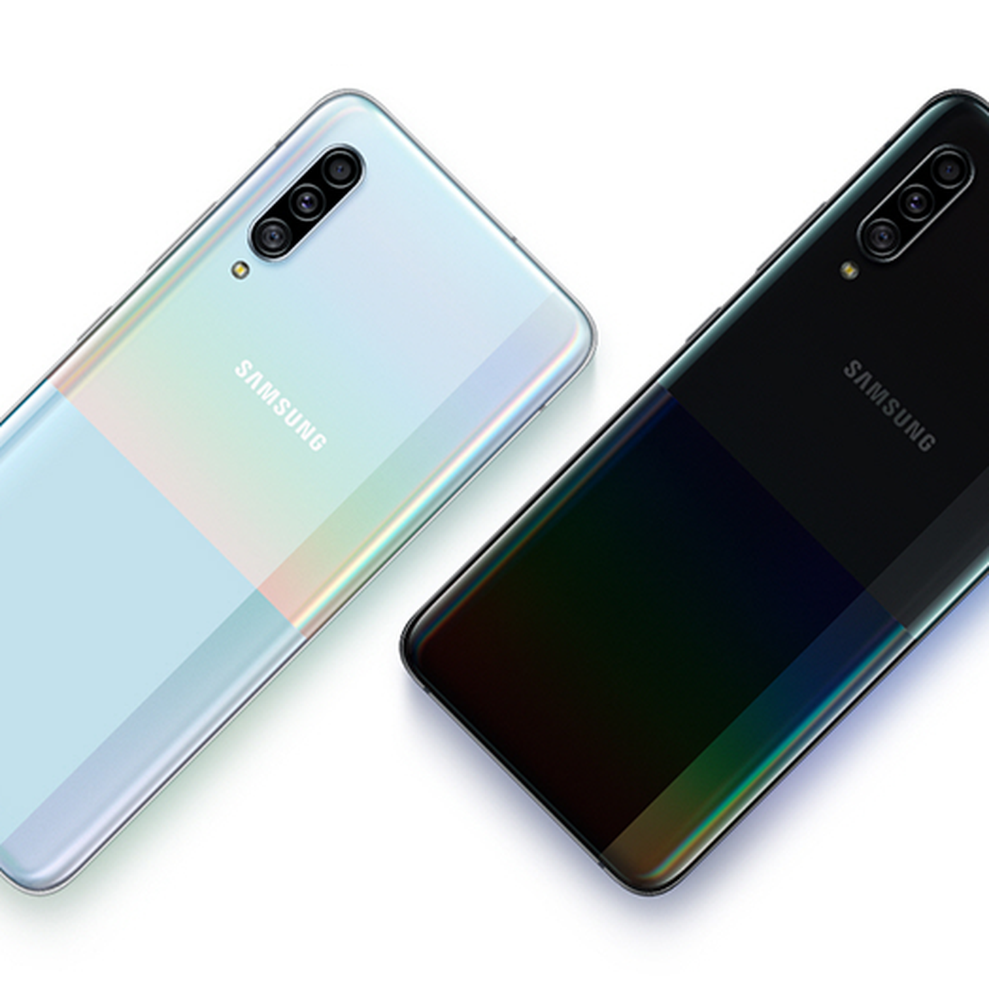 Samsung S Galaxy A90 5g Is A Mid Range Phone With Next Gen Speeds The Verge