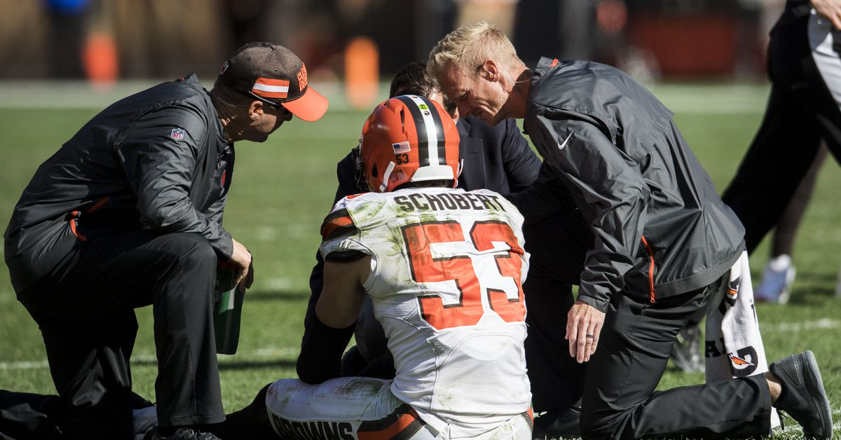 Browns may be without Joe Schobert for a while