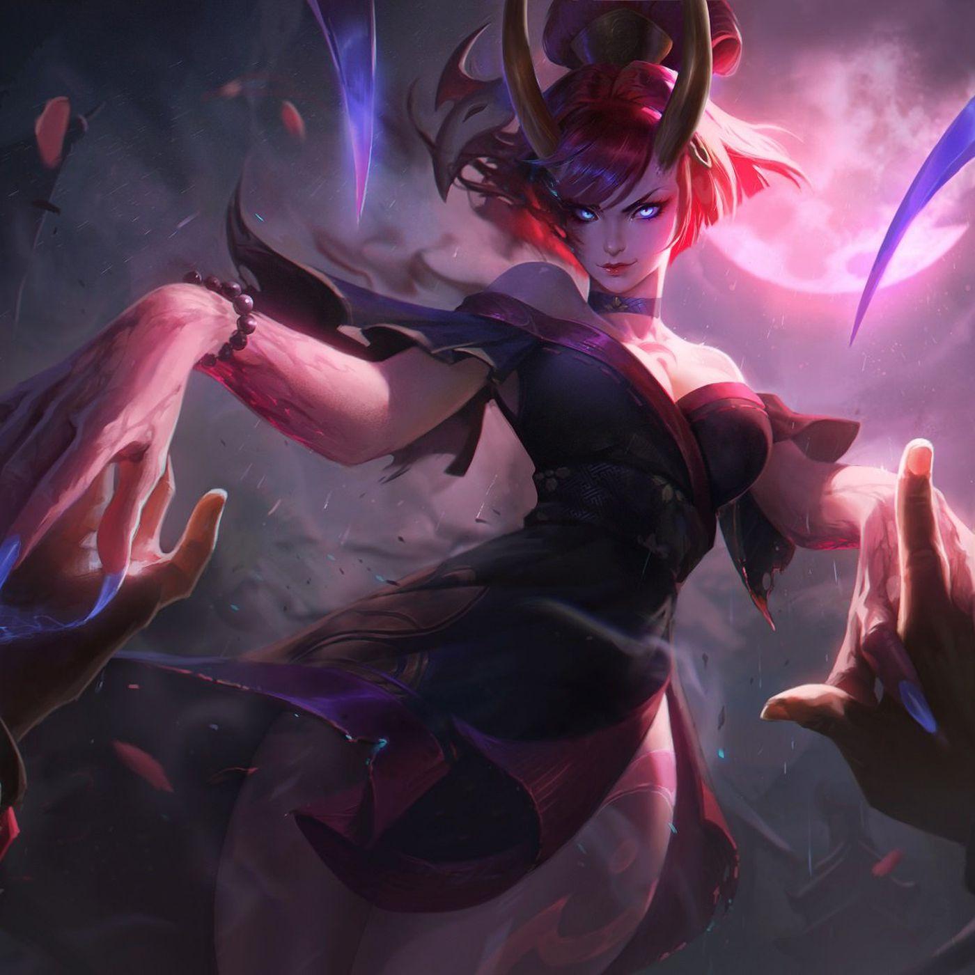 Blood Mood Evelynn Is The Red Demon Skin She Deserves The Rift Herald