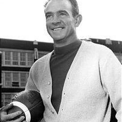 Gean Plaga, circa 1970, was all a football coach should be: tough, compassionate, respectable and friendly.