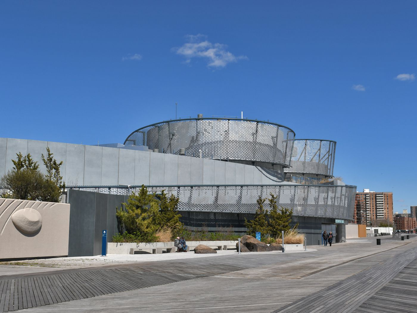 New York Aquarium Opens Its Ocean Inspired Shark Pavilion At Coney Island Curbed Ny