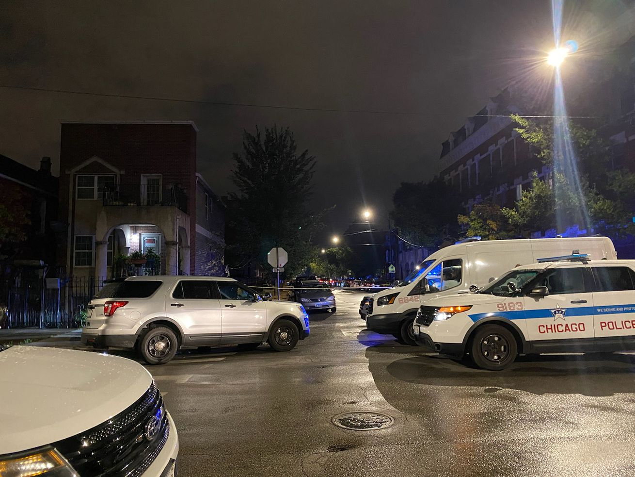 A man was killed by Chicago police during a gunfire exchange Monday, Aug. 31, 2020, in 1300 block of West 19th Street in Pilsen.