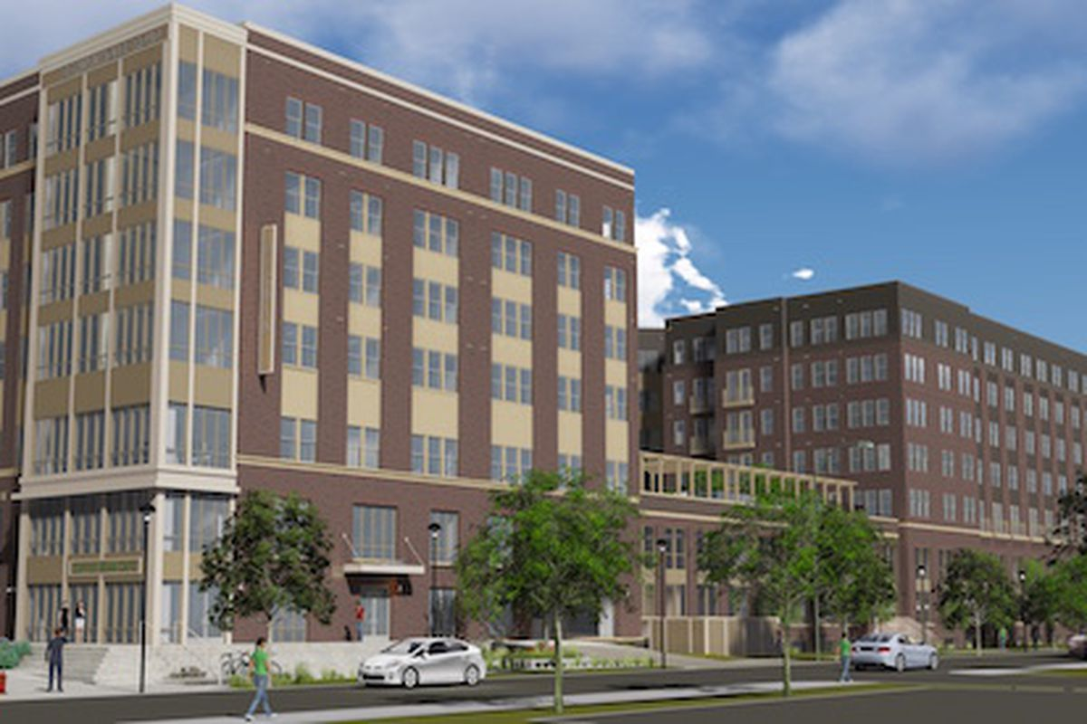275 Unit Apartment Building Planned In College Park Curbed Dc