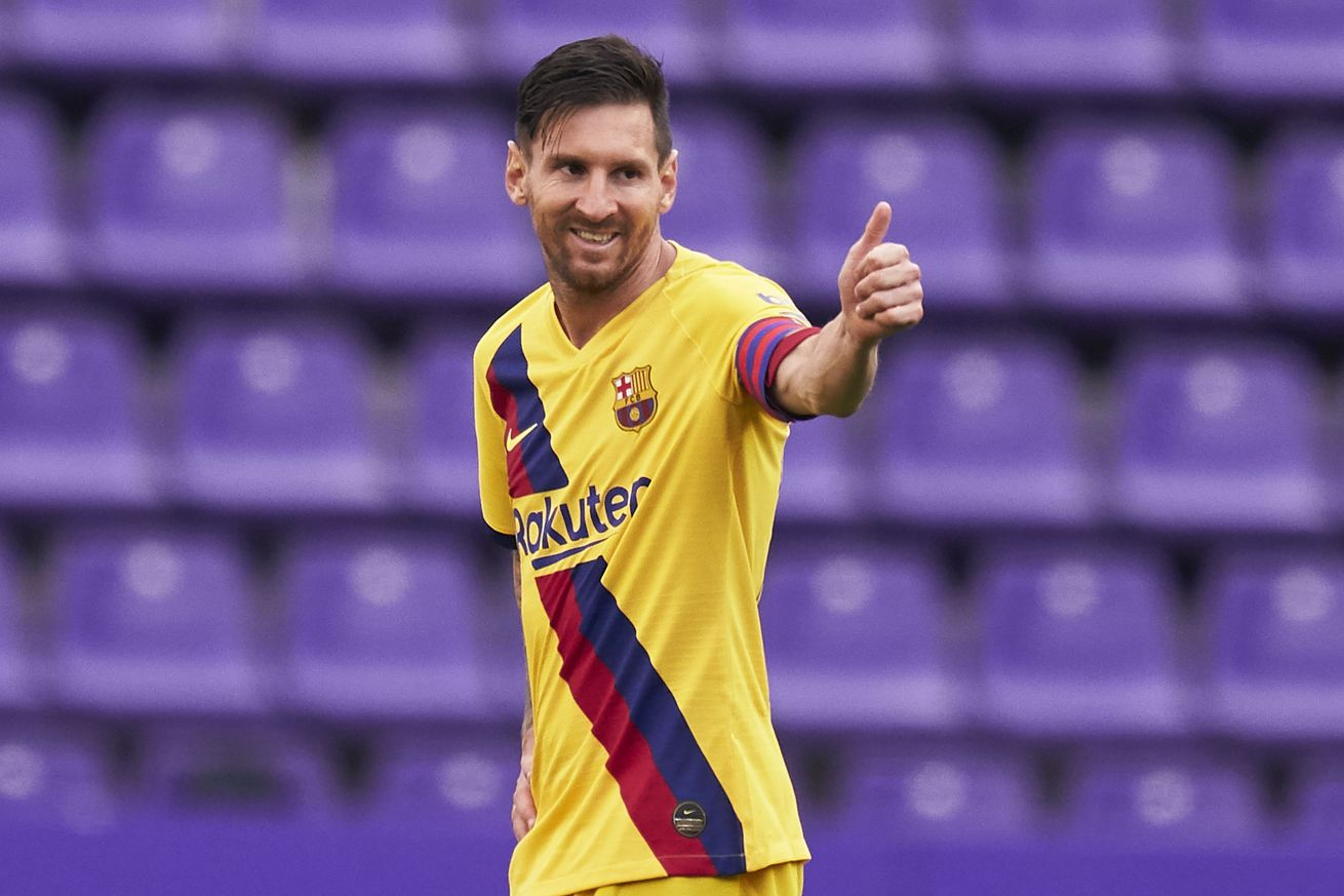 Lionel Messi?s 20:20 in 2020 for Barcelona