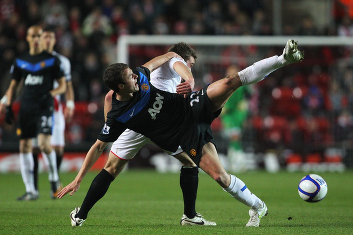 Jonny Evans vs Rickie Lambert is a battle that could be a regular occurrence