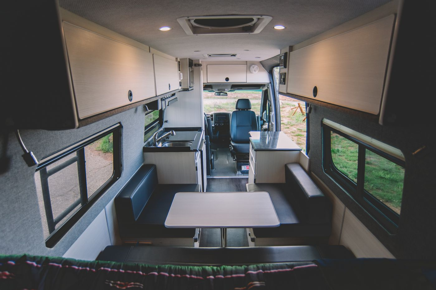 Sportsmobile camper van can sleep a family of 6 - Curbed
