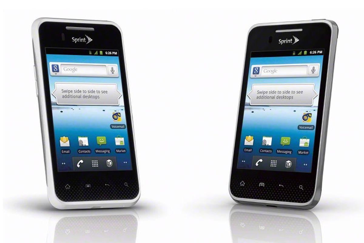 LG Optimus Elite 2-up