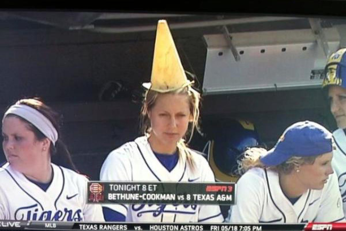 <em>BEHOLD THE POWER OF THE RALLY CONE!</em>