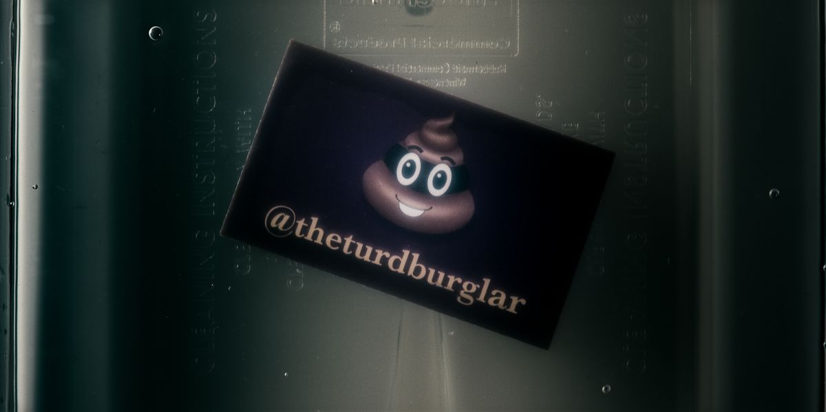 American Vandal - The Turd Burglar's card