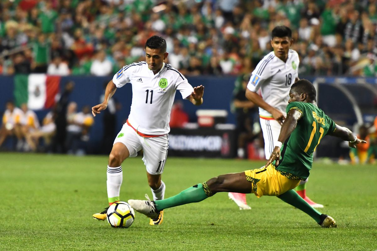 Soccer: 2017 CONCACAF Gold Cup-Mexico at Jamaica