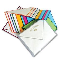 """<b>Hudson</b> Set of 10 Color Edge Social Notes, <a href=""""http://hudsonboston.com/collections/accessories/products/color-edge-social-note-box"""">$20</a>"""