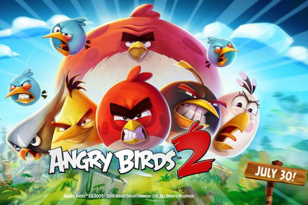 angry birds 2 is coming on july 30th the verge