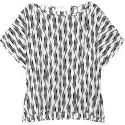 """<a href=""""http://www.net-a-porter.com/product/190183"""">Thakoon Addition Printed woven top</a> , $132 (was $220)"""