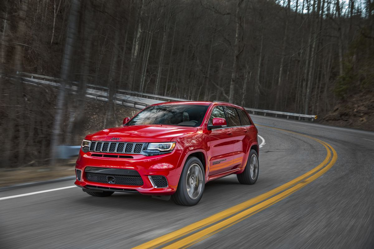 Jeep says the Grand Cherokee Trackhawk is the fastest SUV ever - The