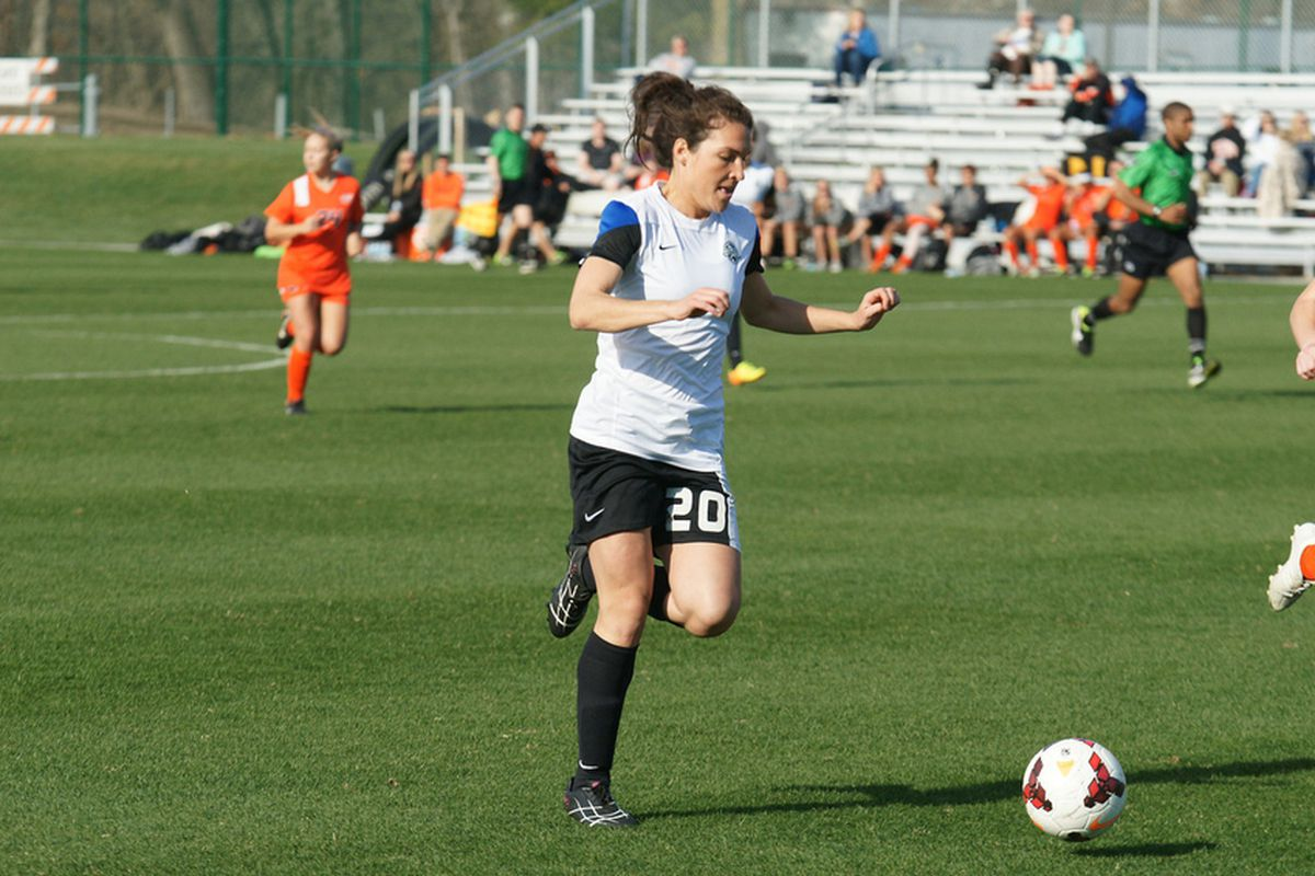 Molly Dreska was one of two reservists who made their debut for FC Kansas City