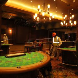 More views of table games.