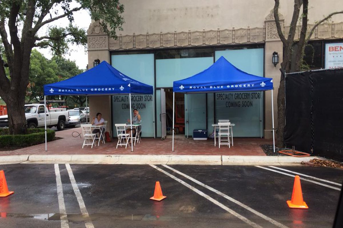 Upcoming Royal Blue Grocery