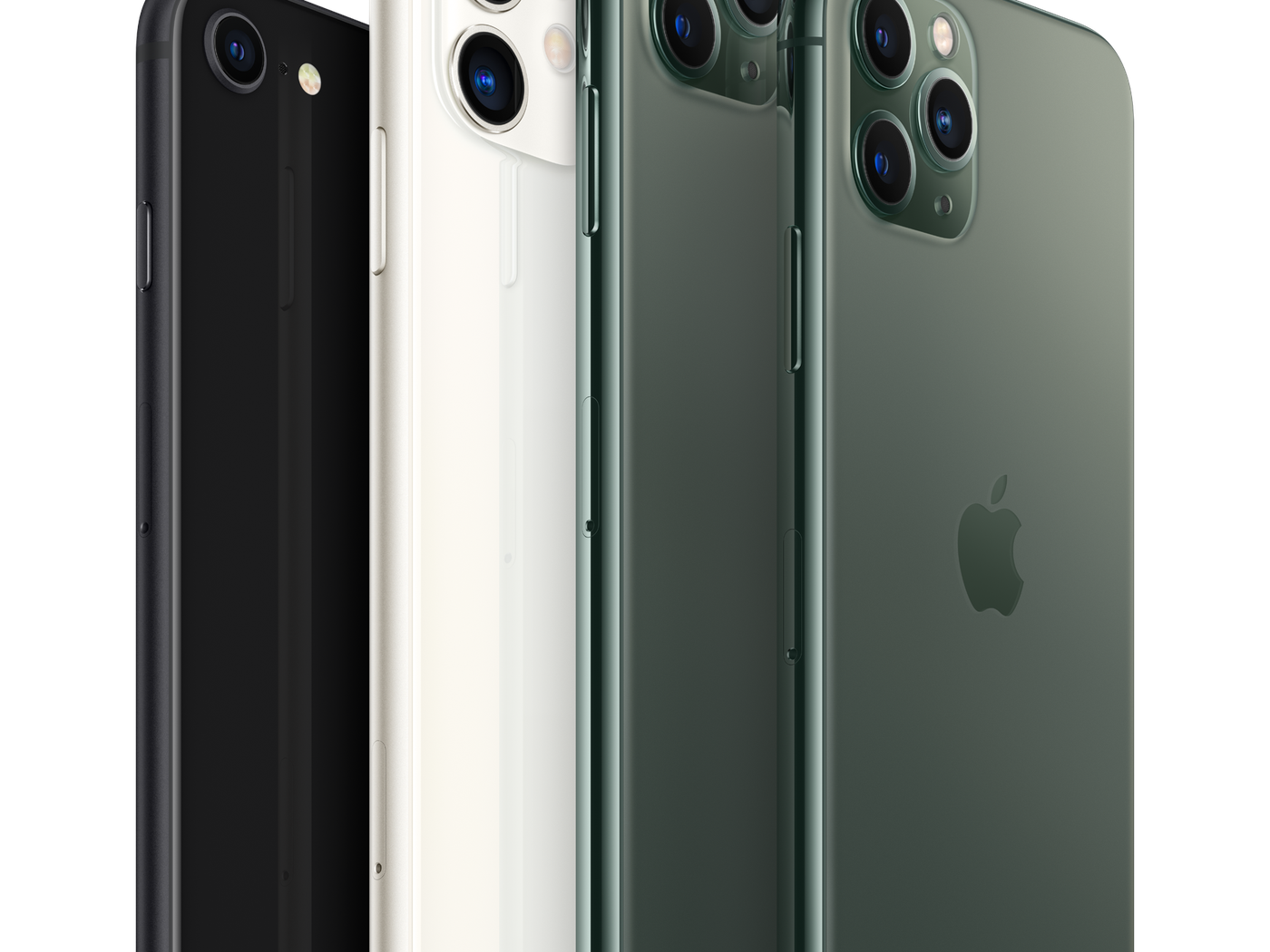 Iphone Se Vs Iphone 11 Vs Iphone 11 Pro How Apple S Newest Iphone Compares To Its Flagships The Verge