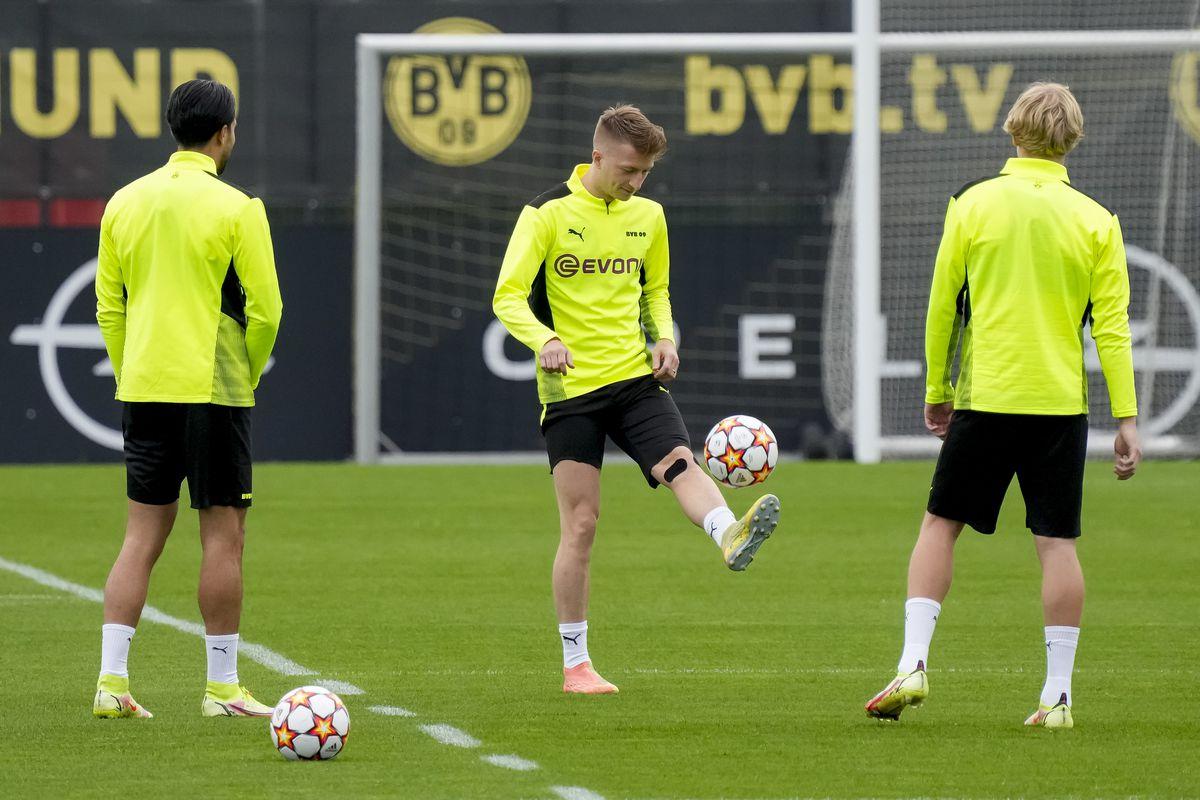 Training Session Borussia Dortmund- UEFA Champions League